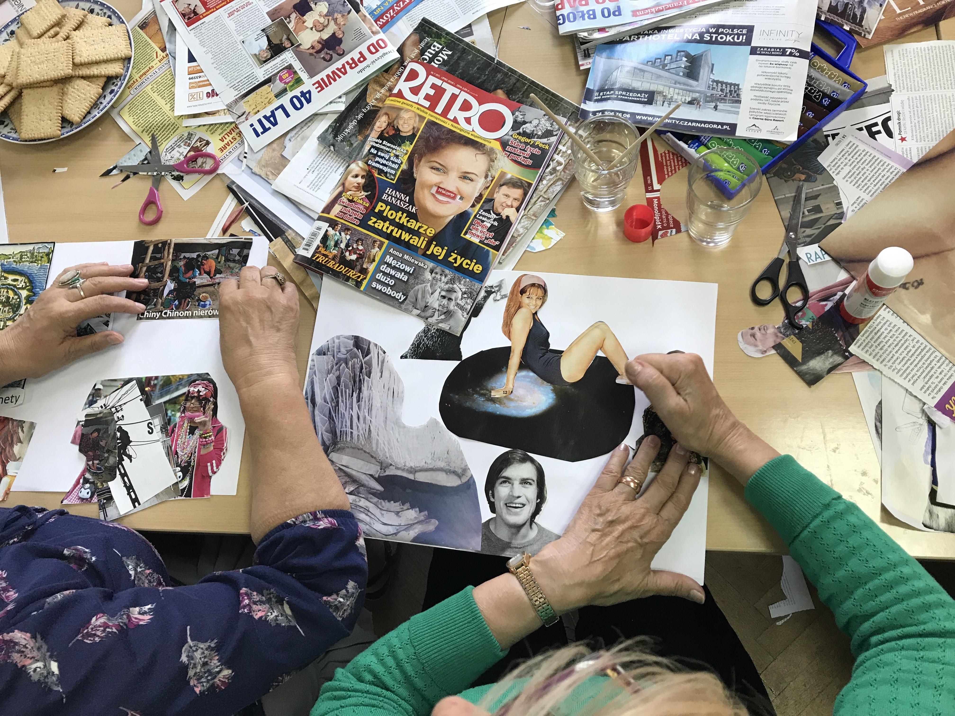 """Warsztaty dla seniorów """"Wspomnienia"""" realizowane wŁódzkim Domu Kultury"""
